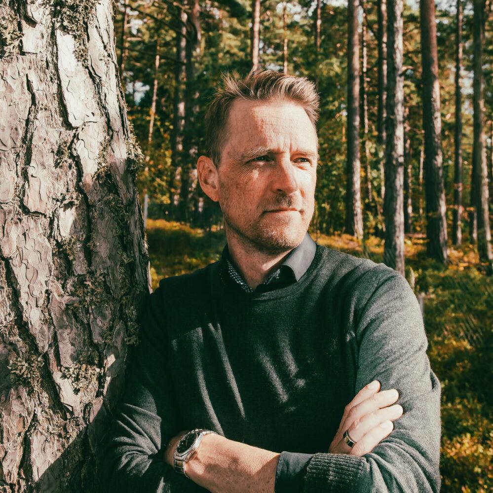 Kuvassa konsultti Markus Anttila.